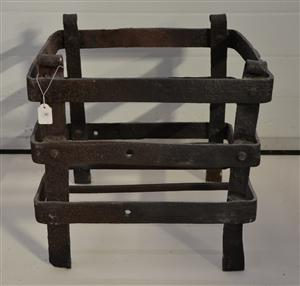 17th century Dutch fire grate