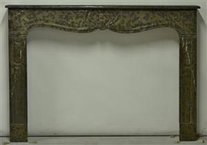 103 Brown-Black Louis XV Fireplace