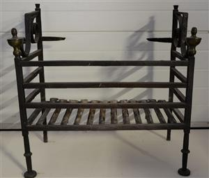 Early 18th century Dutch fire grate